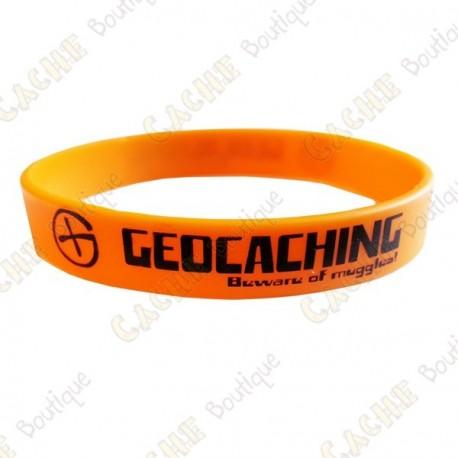 Bracelet silicone Geocaching - Orange