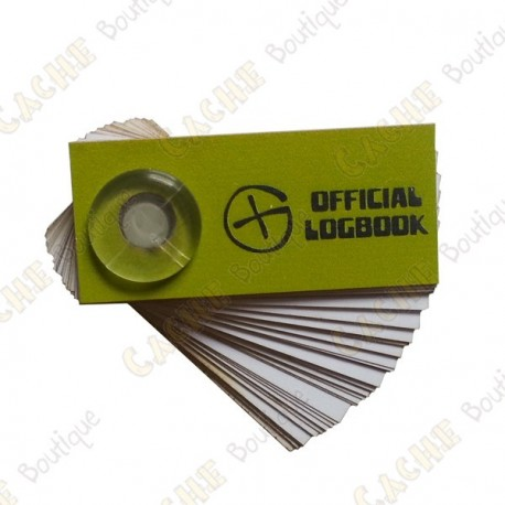 """Logbook """"Official Logbook"""" pour film canister"""