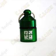 Hanging Official Nano Cache - Green