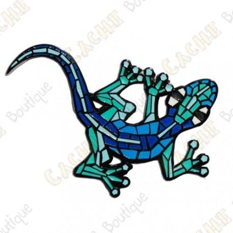 "Geocoin ""Gecko"" v2 - Aqua BN"