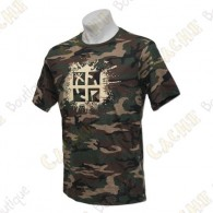 "T-Shirt ""Cache Attack"" - Green camo"