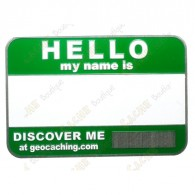 Name tag trackable - Verde