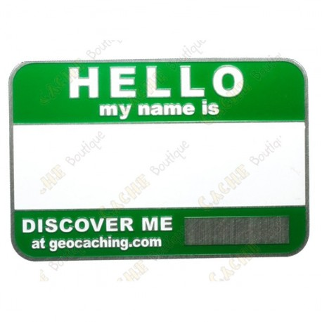 Name tag trackable - Green