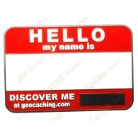 Si vous possédez déjà un code, inscrivez-le sur ce badge au marqueur permanent.