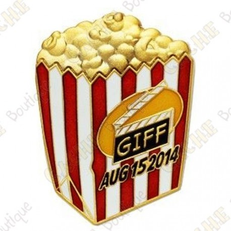 "Géocoin ""GIFF"" 2014 - Pop corn"