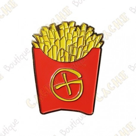 "Geocoin ""Fast Food"" -  Fench fries"