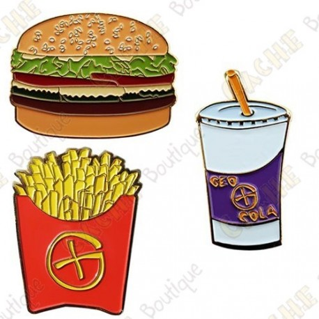 "Geocoin ""Fast Food"" -  Menu"