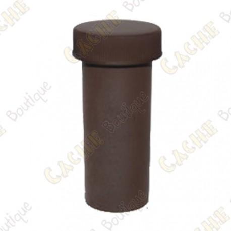Tube cache 7,5cm - Brown