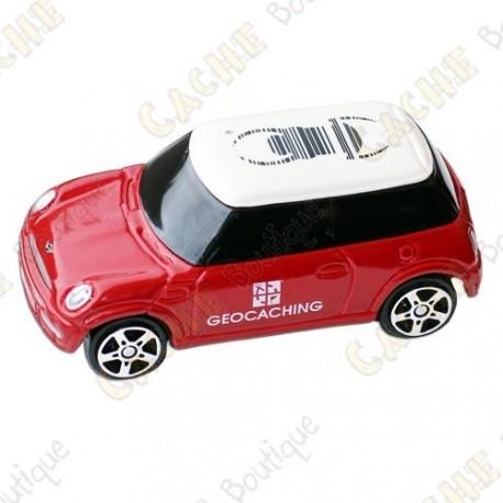 Mini Cooper trackable - Rojo