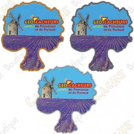 """Geocoin """"Géocacheurs de Provence"""" - Pack of 3"""