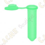 Plastic micro tube for urban caches or to make you own original caches.