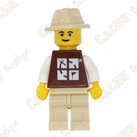 Figura LEGO™ trackable - Chapéu de cor areia