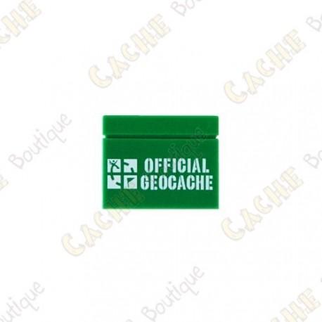 """Tijolo LEGO™ """"Official Geocache"""""""