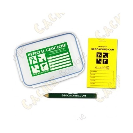 "Kit ""Official Geocache"" - Medium"