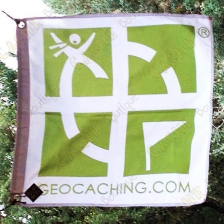 Flag Geocaching trackable - Small
