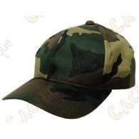 Casquette camouflage - Vert