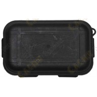 Black waterproof box with Survival Kit