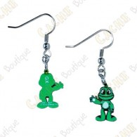 Pendientes trackable Signal the frog