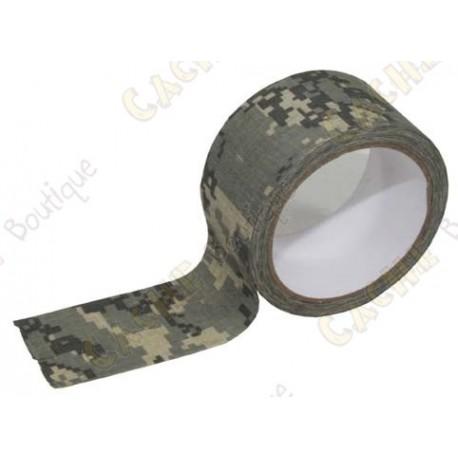 Camuflagem adesivo grande - Digital