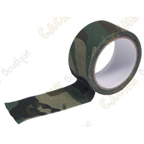 Adhesive wide camo tape - Green
