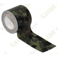 Adhesive camo tape to hide your cache containers.