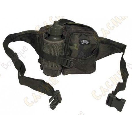 Waist Bag with gourd - Green camouflage