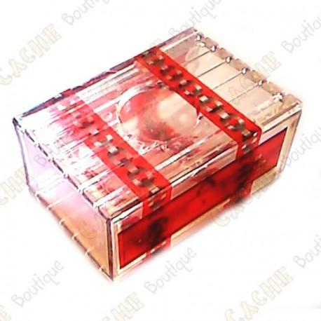 "Cache ""Secret drawer"" - Plastic"