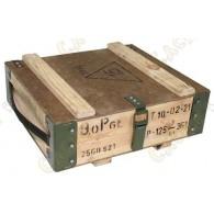 "Caja de madera - "" Ejército"""