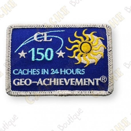 Geo Achievement® 24 Hours 150 Caches - Patch