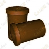 Film canister x 10 - Brown