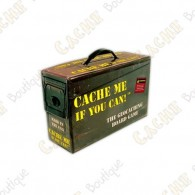 """Cache me if you can!"" Board Game"