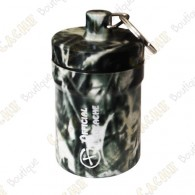 "Micro cache ""Official Geocache"" 8 cm - Black grass"