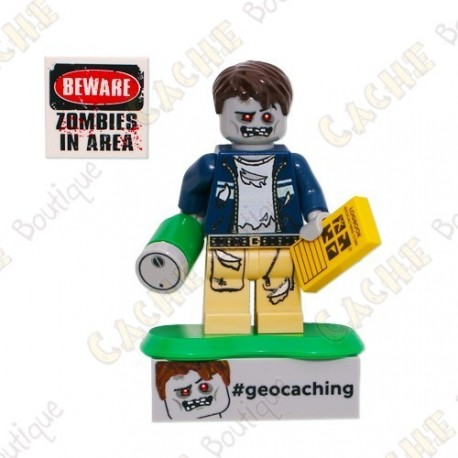 Trackable LEGO™ figure - Zombie Cache Hunter