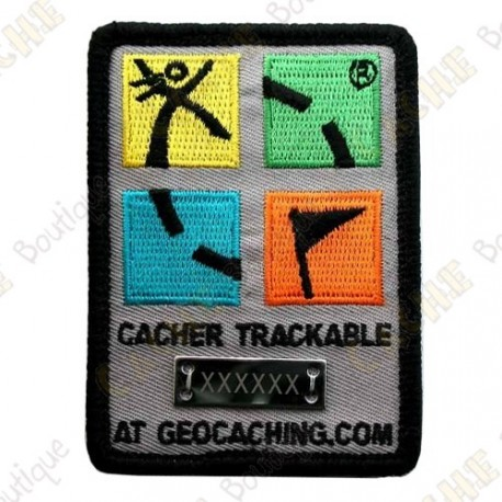 Patch Geocaching trackable - Color
