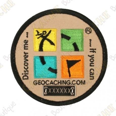 Patch Geocaching trackable - Rodada