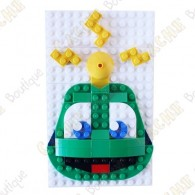 Signal the Frog® LEGO™ figure - Brick set