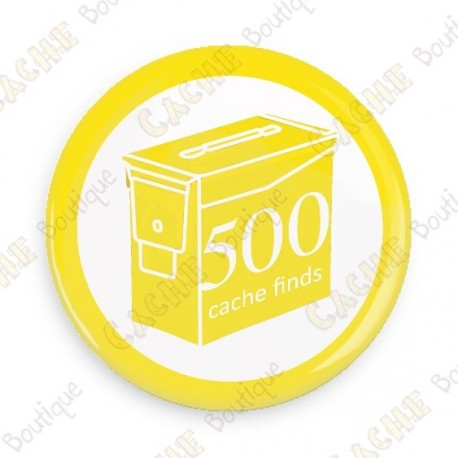 Geo Score Button - 500 finds