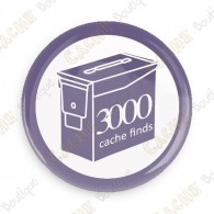 Geo Score Button - 3000 finds