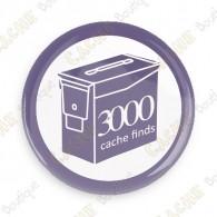 Geo Score Button - 3000 finds