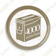 Geo Score Badge - 4000 Finds