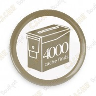 Geo Score Button - 4000 finds