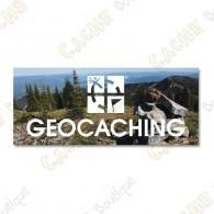"Geocaching"" acrylic magnet"