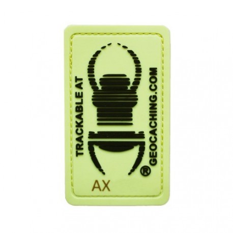 TB trackable patch - Glow in the dark