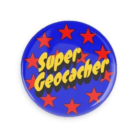 Super Geocacher button