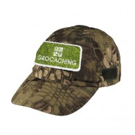 Gorra parche Geocaching - Camuflage serpiente
