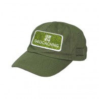 Geocaching cap with patch - Khaki