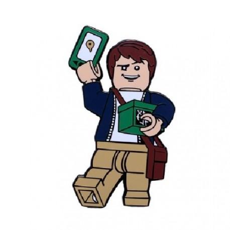 """Geocoin """"Cache Hunter Brick"""""""