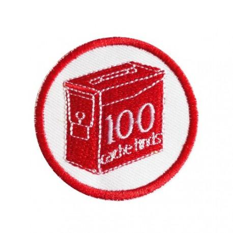 Geo Score 100 Finds - Patch