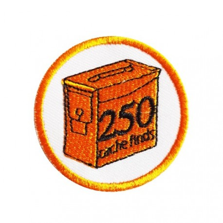 Geo Score Patch - 250 Finds
