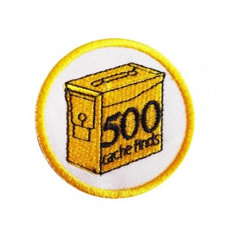 Geo Score Patch - 500 Finds